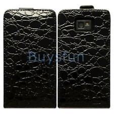 Crocodile Flip Leather Cover Case  for Samsung Galaxy S2