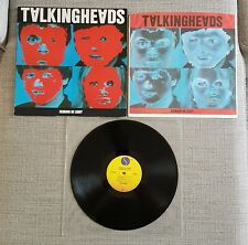 TALKING HEADS-REMAIN IN LIGHT-GERMAN ISSUE LP ON SIRE/WARNER BROS RECORDS-1980
