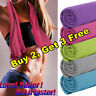 Instant Cooling Towel ICE Cold Pad Golf Cycling Jogging Gym Sports Outdoor Yoga