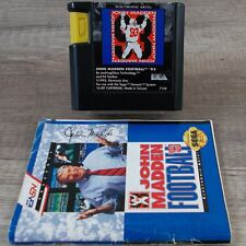 Sega Mega Drive ► John Madden Football '93 ◄ Modul + Anleitung