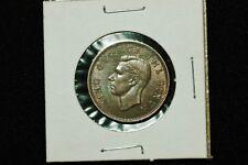 New Zealand 1/2 Penny, Uncirculated, 1949