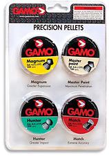 Combo Pack of 1000 GAMO Assorted .177 Caliber Pellets Pro Air Gun Rifle Pistol .