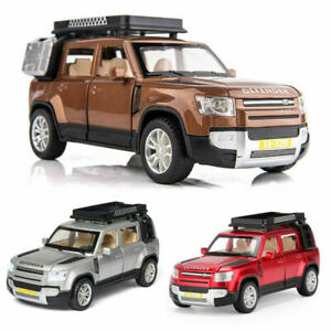 1:32 All-New Land Rover Defender Diecast Model Car Toy Collection Light & Sound