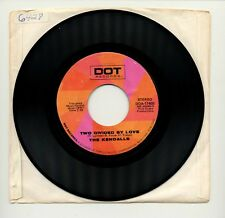 """THE KENDALLS - TWO DIVIDED BY LOVE / 7"""" 45 RPM VINYL SINGLE / 1979 DOT DOA-17405"""