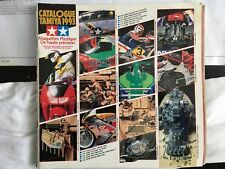 Vintage Tamiya 1993 Model Catalogue - French Language.