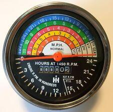 IH Farmall Tractor Tachometer 400 450 Gasoline