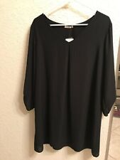 Soprano Large Black Shift Dress