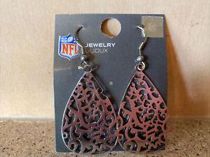 Washington Redskins NFL Women's Silver Filigree Earrings - NWT
