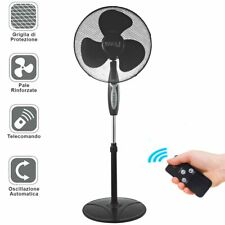 Ventilatore Colonna Piantana 45W 40cm 3 Velocita Altezza Regolabile Telecomando