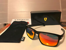 NEW Oakley FERRARI SLIVER Matte Black Frame / Ruby Iridium Lenses, OO9262-12