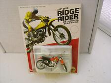 "New listing 1980 Zee Diecast 3"" Long Honda Xr-75 Dirt Bike Ridge Rider New On Card"