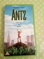 Dreamworks ANTZ- Video VHS- Collectable PG- Animated Full Colour Movie Film