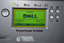 Dell Powervault TL2000 Tape Library 2X LTO3