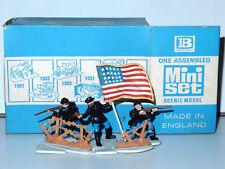 BRITAINS MINI SET #1151 CONFEDERATE TROOPS ASSEMBLED MODEL SHOP DISPLAY BOX MIB