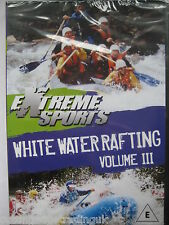 White Water Rafting  Volume 3: Extreme Sports (DVD, 2007) NEW SEALED PAL