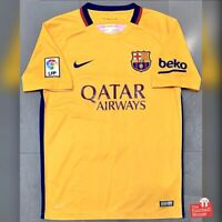 Authentic Nike Barcelona 2015/16 Away Jersey. Size M, Good Condition.