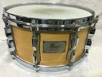 PEARL ZRX maplewood 14 x 6.5 inch Snare Drum good condition made in Japan