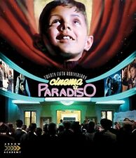 CINEMA PARADISO New Sealed Blu-ray Twenty Fifth Anniversary 25th