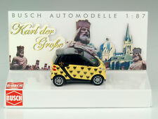 Busch 99086 Smart Coupe Karl The Great Aachen Special Model Limi 250 STK 1:87