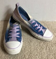 CONVERSE Sneakers Multi-Color Blue Light Purple Womens size 6