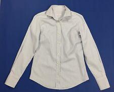 Simon's camicia donna a righe manica lunga maglia top 44 usato camicetta T4486