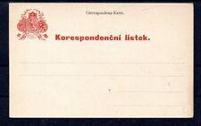 CZECHOSLOVAKIA     CORRESPONDENZ CARTE