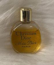 VINTAGE Christian Dior MISS DIOR Paris France PERFUME Original MINI NO BOX