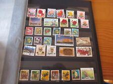 34timbres stamp NOUVELLE ZELANDE   OBLITÉRÉS TOUS ETATS VOIR PHOTOS