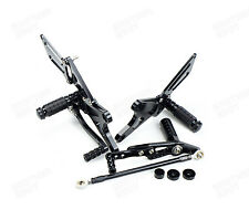 CNC Rear Sets Foot Pegs Footrest for Yamaha YZF-R1 LE 2009 2010 2011 2012 2012