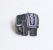 Elephant Soft Enamel Lapel Pin 1.25 inch, flair pin game, vintage image