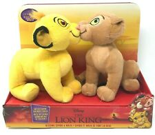 Disney The Lion King Movie 2019 Kissing Simba and Nala Plush Animals