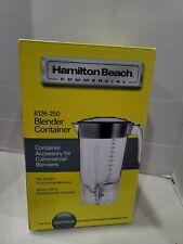 Hamilton Beach Blender Container Commercial 44 Oz