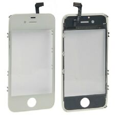 Originale VETRO Touch screen +frame iPhone 4S BIANCO Vetrino touchscreen cornice