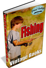161 VINTAGE FISHING ANGLING BOOKS DVD -tackle, fishing,rods,bait,worms,maggots