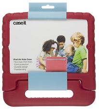 Case it Chunky Foam Case Cover for iPad Air 5th Generation - Red