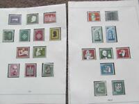 West Germany MNH Stamps 1956 on Safe Hingless Printed Allbum Pages