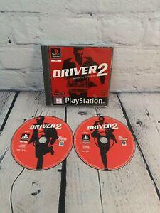 Driver 2 (PS1) Playstation 1. No Manual