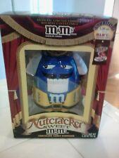 M & M Blue Nutcracker Chocolate Candy Dispenser NIB
