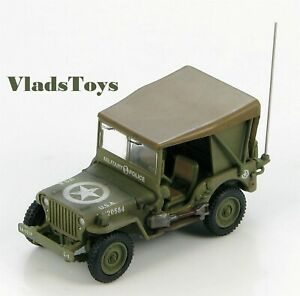 Hobby Master 1:72 Willys Jeep US Army 101st Military Police Btn Italy1945 HG4212
