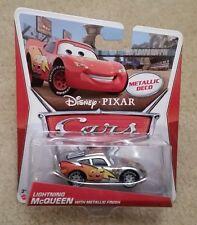 Disney Pixar Cars 2 • Lightning McQueen with Metallic Finish • Metallic Deco