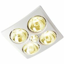 IXL TASTIC ORIGINAL 3 IN 1 BATHROOM HEATER 4x275W Infra-Red Heat Lamps *AUS Made