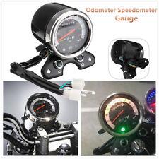 Universal Motorrad Tachometer Kilometerzähler Speedometer für Suzuki Cafe Racer