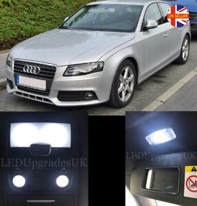 AUDI A4 S4 B8 Saloon Full White LED Interior Light Kit Upgrade