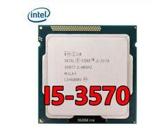 intel Quad-Core i5-3570 CPU Processor 3.4Ghz 6M Cache 77W LGA 1155 Socket