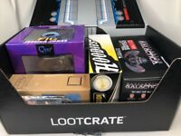 Loot Crate Lot - Jessica Jones Fallout Battlestar Galactica Green Arrow Comics