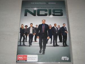 NCIS season 18 DVD R4 NEW/SEALED