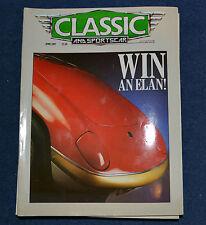 Classic & Sportscar April 1987 TVR supplement, Fiat 130 Coupe, Alfa Monza,