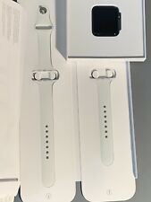 Apple Watch Series 2 42mm Aluminum Case White Silicone BRAND NEW SPORTS BAND