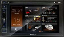 Xzent X-402 2-DIN Autoradio DAB+ CD DVD HDMI Bluetooth Rear USB Touch Display