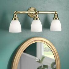 Weishaar 3-Light Dimmable Vanity Light Polished Brass